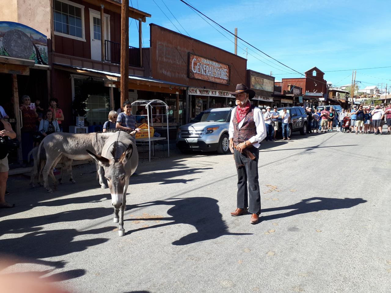 Village de OATMAN