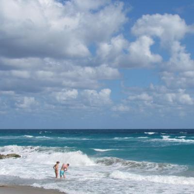 Plage de Palm Beach
