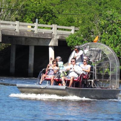 Tour en airboat