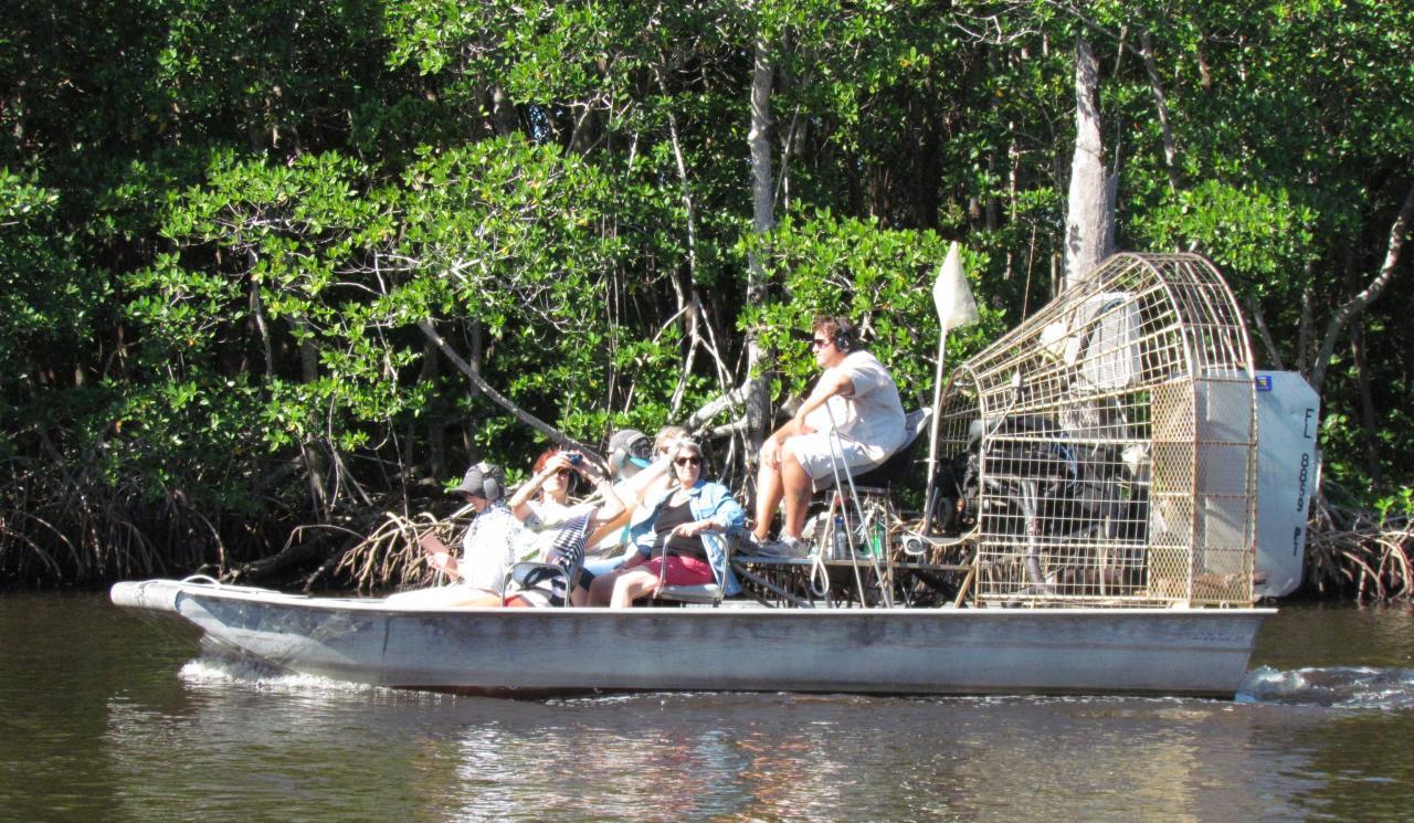 Tour en airboat dans les Everglades