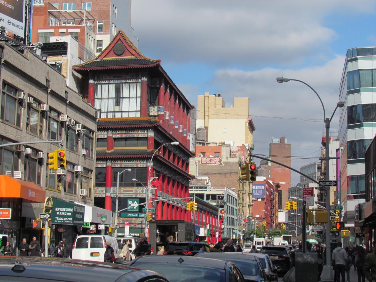 CHINA TOWN à NEW YORK