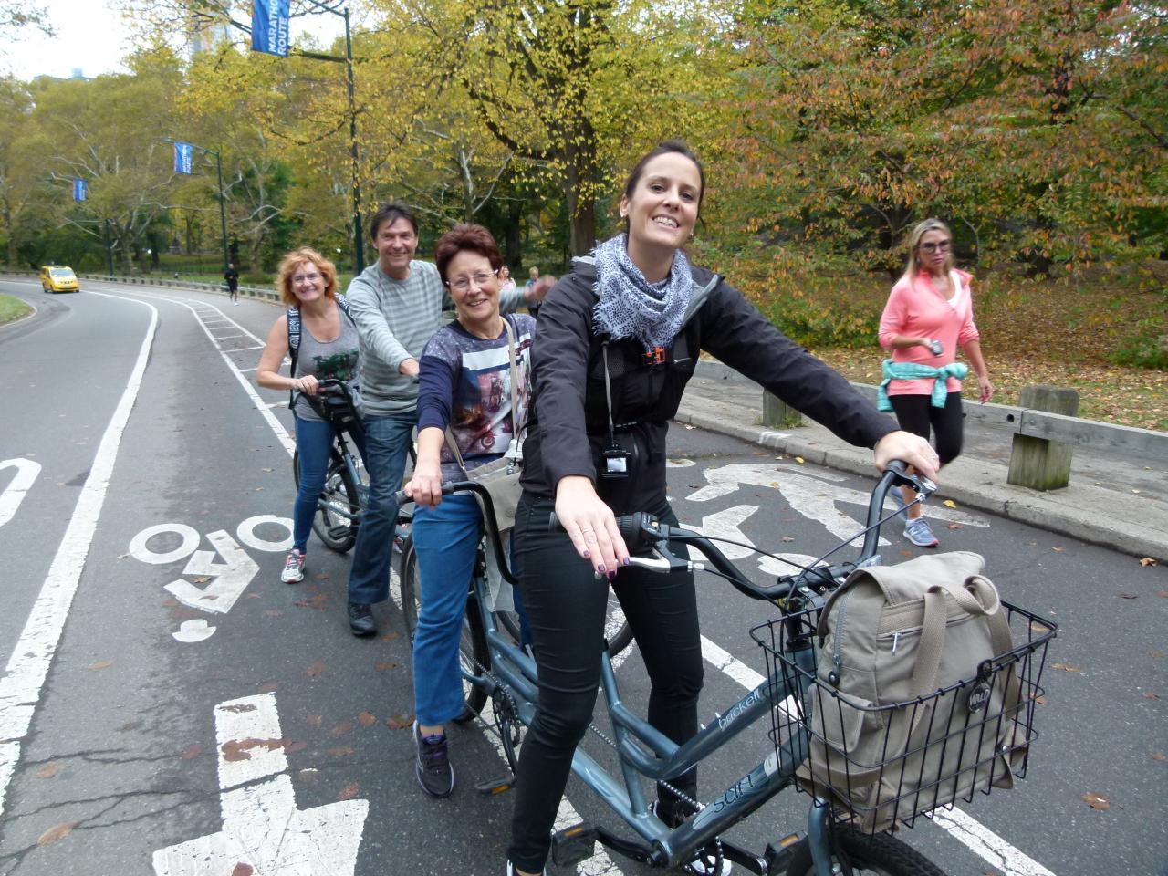 Balade en vélo dans CENTRAL PARK NEW YORK