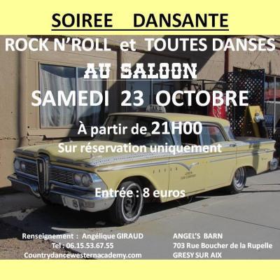 Bal rock 23 octobre 2021